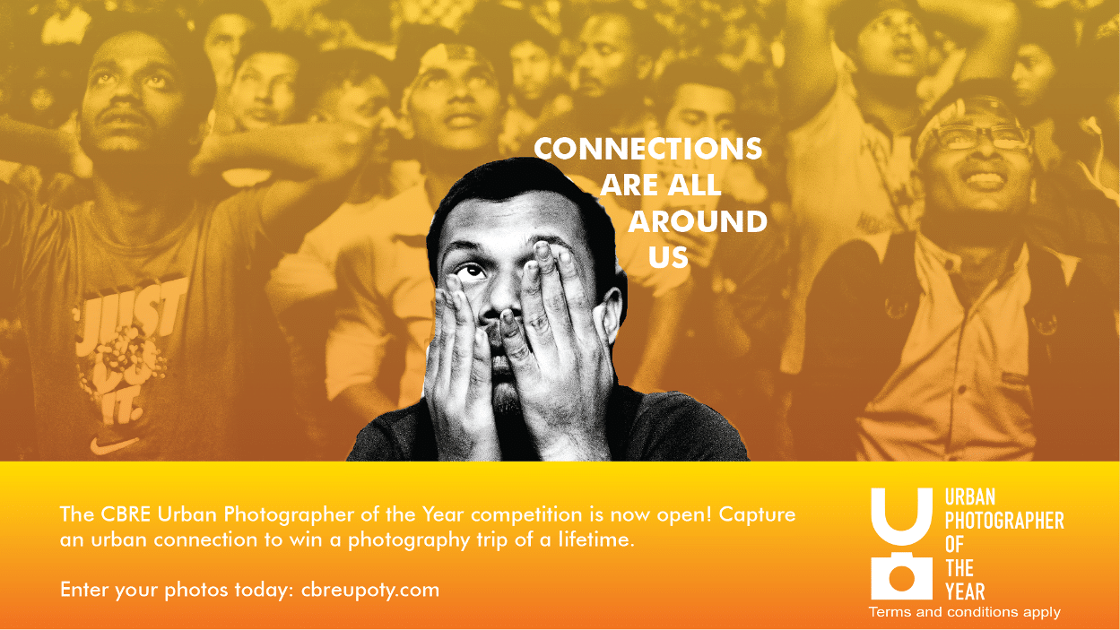 ซีบีอาร์อี จัดประกวดภาพถ่าย หัวข้อ Cities of Connections | Prop2Morrow บ้าน คอนโด ข่าวอสังหาฯ