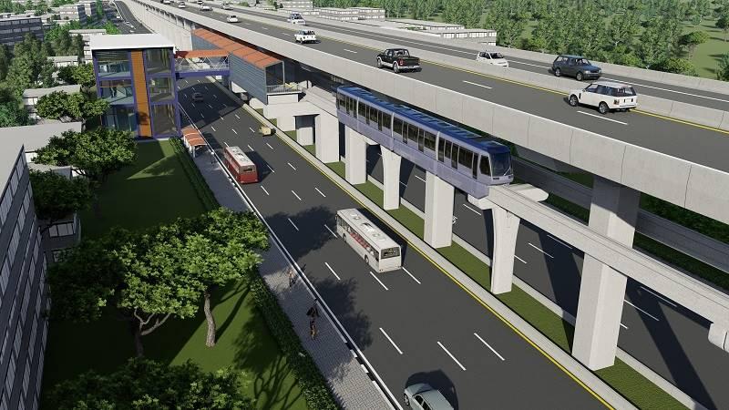 สร้างรถไฟฟ้าสายสีน้ำตาลเลือกแบบที่4รถไฟฟ้าและระบบทางด่วนบนสายทางเดียวกัน | Prop2Morrow บ้าน คอนโด ข่าวอสังหาฯ