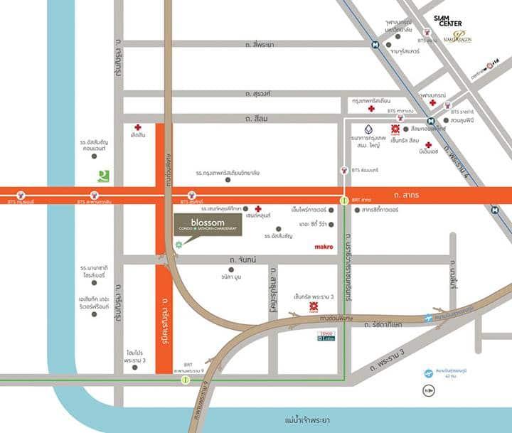 สาทรเจริญราษฎร์ ทำเลทองใหม่ใจกลางเมือง | Prop2Morrow บ้าน คอนโด ข่าวอสังหาฯ