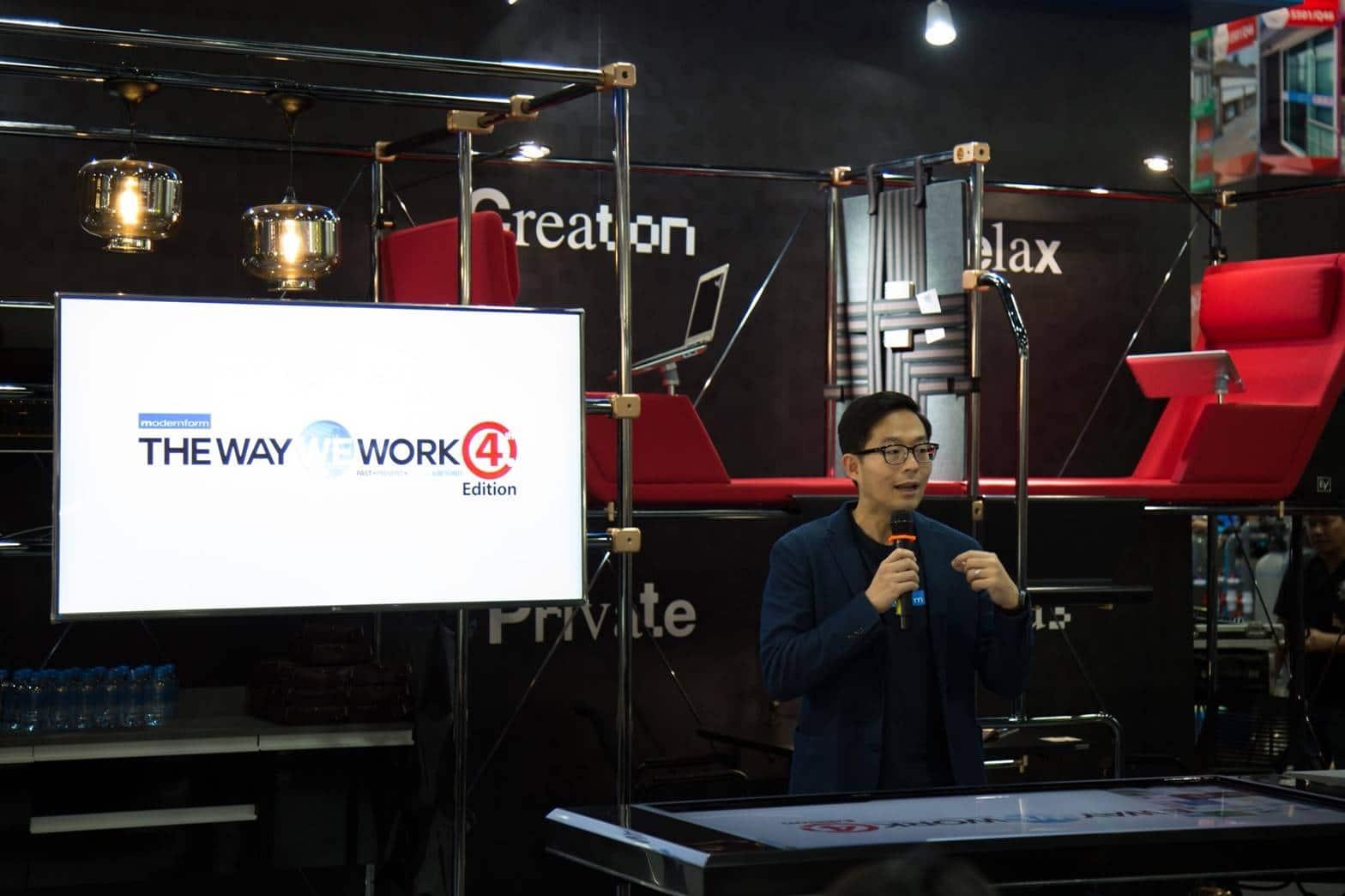 โมเดอร์นฟอร์มผนึกExzy เปิดตัว CoCreation  นวัตกรรมสำนักงานตอบรับสไตล์คนรุ่นใหม่   Prop2Morrow บ้าน คอนโด ข่าวอสังหาฯ