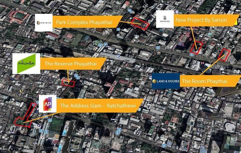 5 บิ๊กอสังหาฯเปิดศึกตลาดคอนโดฯย่านพญาไทราชเทวี | Prop2Morrow บ้าน คอนโด ข่าวอสังหาฯ