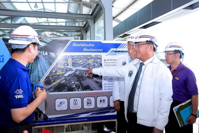 โครงการรถไฟฟ้าสายสีน้ำเงินก่อสร้างคืบกว่า 99 | Prop2Morrow บ้าน คอนโด ข่าวอสังหาฯ