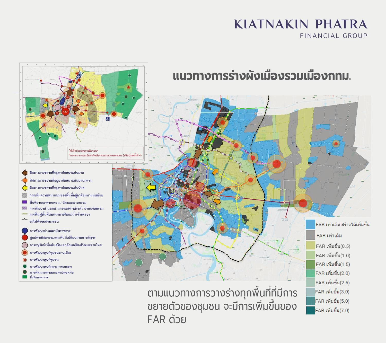 การเปลี่ยนแปลงของการพัฒนาอสังหาริมทรัพย์ ตาม ร่าง ผังเมืองใหม่กรุงเทพมหานคร ครั้งที่ 4 | Prop2Morrow บ้าน คอนโด ข่าวอสังหาฯ
