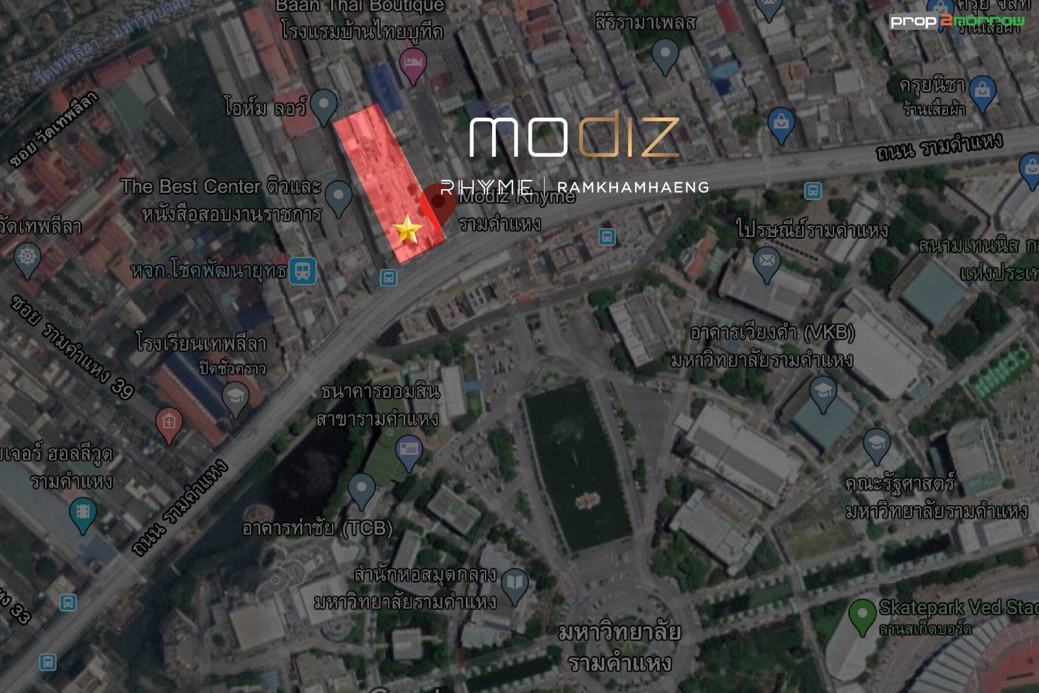 จับตาโครงการใหม่ Modiz Rhyme Ramkhamhaeng บนทำเล Rare Item ที่สุดในย่านรามคำแหง   Prop2Morrow บ้าน คอนโด ข่าวอสังหาฯ