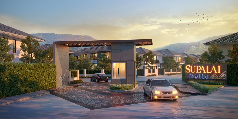 SPALI ปักหมุดผุด ศุภาลัย เบลล่า บ้านสวน  เศรษฐกิจ ใจกลางชลบุรี มูลค่า 665 ล้านบาท   Prop2Morrow บ้าน คอนโด ข่าวอสังหาฯ