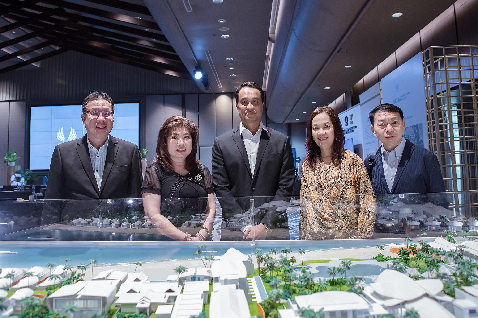 ซิซซา กรุ๊ป จัดงาน VIP DAY  Natai Medical Center  Resort นักลงทุนสนใจเกินคาด | Prop2Morrow บ้าน คอนโด ข่าวอสังหาฯ